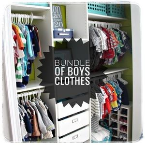 Other - MYSTERY BUNDLE of Boys Clothes Mixed 6-12 Months